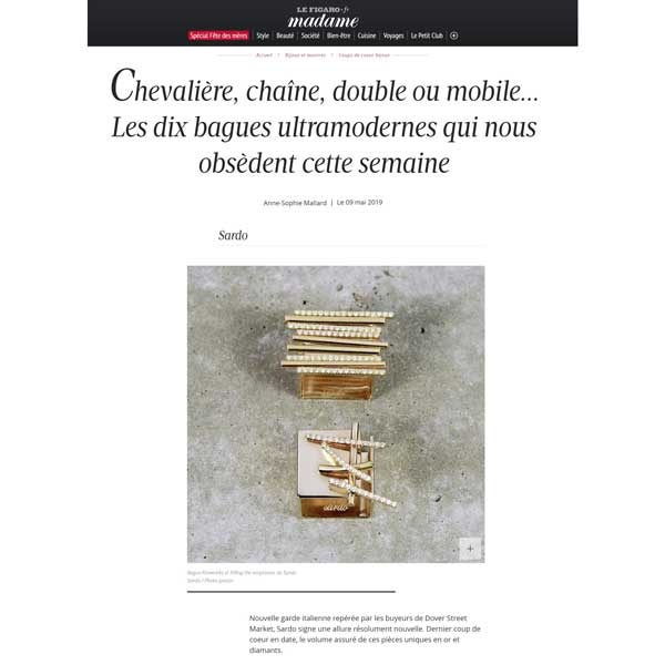Madame Le Figaro May 2019