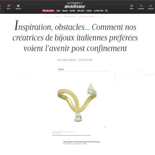 Madame Figaro May 2020