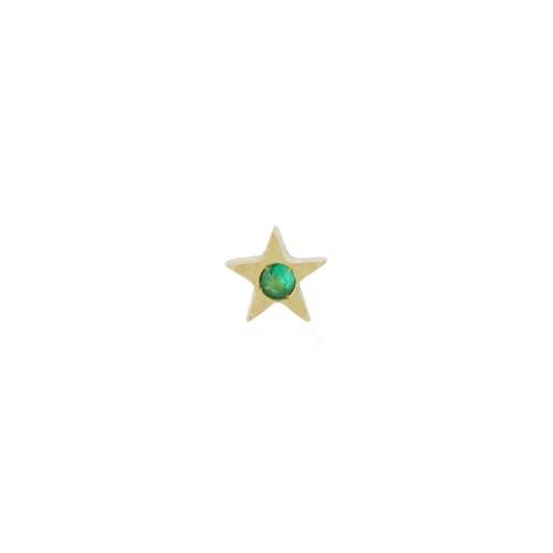 Orecchino MY LITTLE STAR con smeraldo